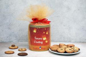 Large Assorted Cookie Gift Tin