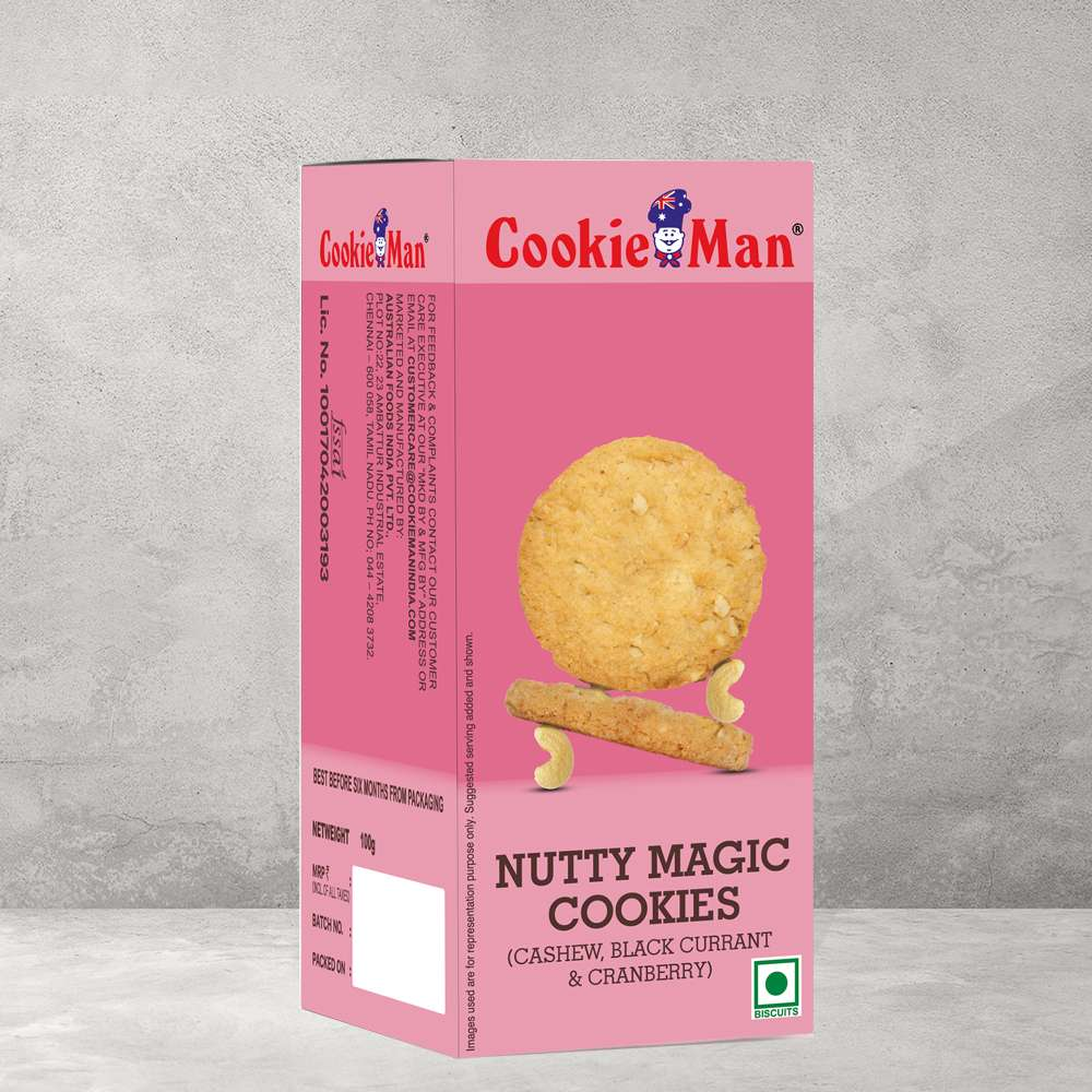 Nutty Magic Cookies