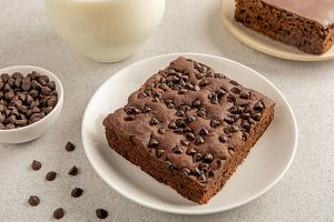 Double Choc Chip Brownie